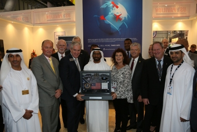 Signed gift given in recognition of the UAE and USA's friendship