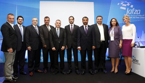 The Jafza delegation along with others in Turkey
