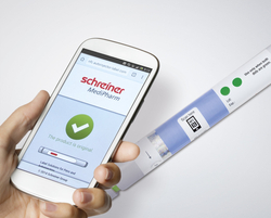 The integration of NFC (Near Field Communication) technology into labels for pharmaceuticals is considered as a forward-thinking new development that adds high value.