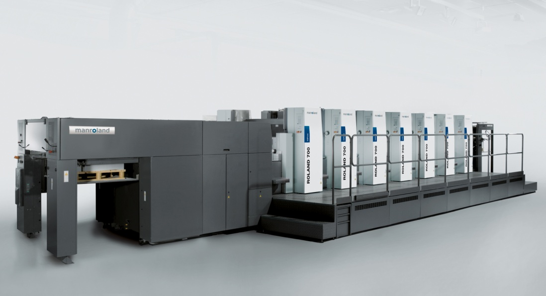 Printing house BORUS, located in the city of Tula, Russia, has bought its first ROLAND 706 LV for packaging printing.