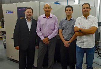 SATERGRAF ENHANCES OPERATION AND LABEL OFFERING WITH SCREEN TRUEPRESS JET L350UV+