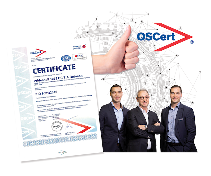 ROTOCON Achieves ISO 9001 2015 Certification