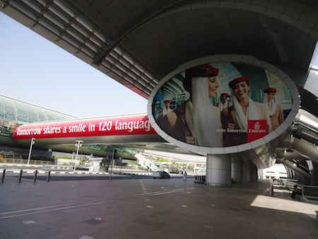 Sample work from PrintechMediaworks for Emirates